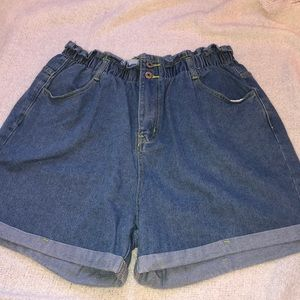 Adorable SHEIN  high waisted shorts, size 2xl